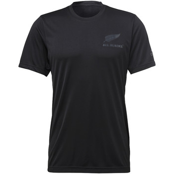 Textiel Heren T-shirts korte mouwen adidas Performance All Blacks Athletics Eclipse T-shirt Zwart / Grijs