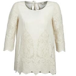 Textiel Dames Tops / Blousjes Stella Forest AELEZIG Ecru