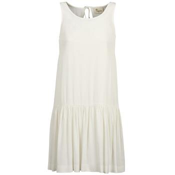 Textiel Dames Korte jurken Stella Forest DELFINEZ Ecru