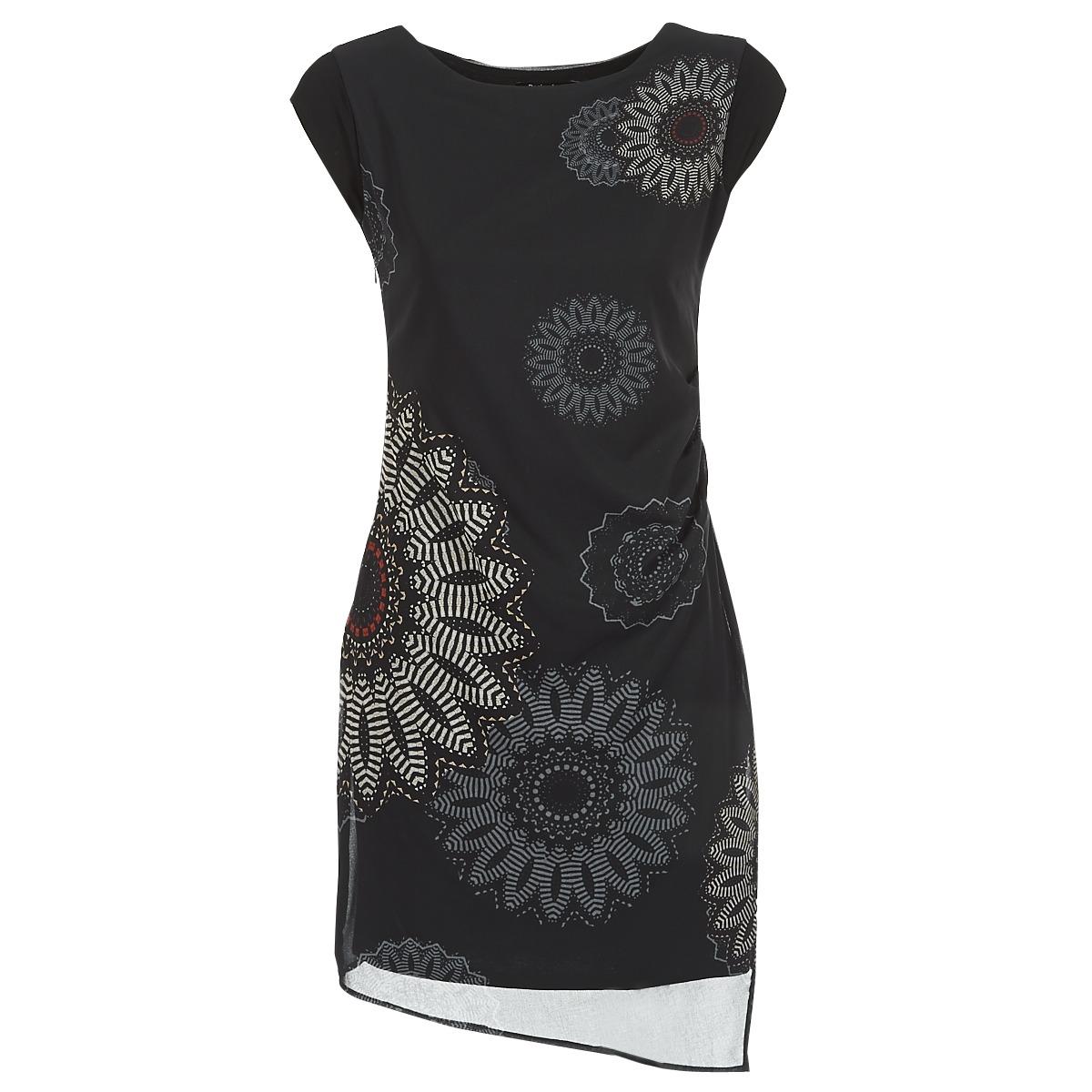 Desigual korte jurk sandrini zwart