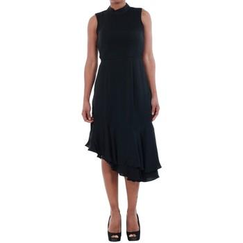 Textiel Dames Jurken Vero Moda 10193254 VMKYLIE SL FRILL KNEE DRESS BLACK Negro