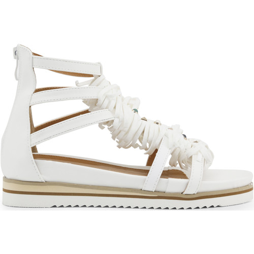 Chaussures Coveri blanches femme 66FRj