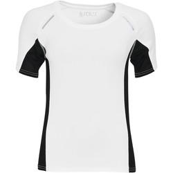 Textiel Dames T-shirts korte mouwen Sols SYDNEY WOMEN SPORT Blanco