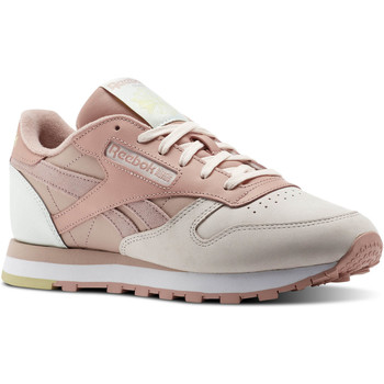 Schoenen Dames Lage sneakers Reebok Classic Classic Leather PM Pink