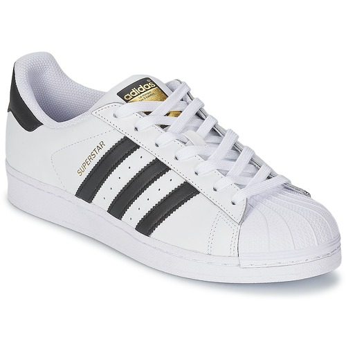 adidas originals superstar zwart wit