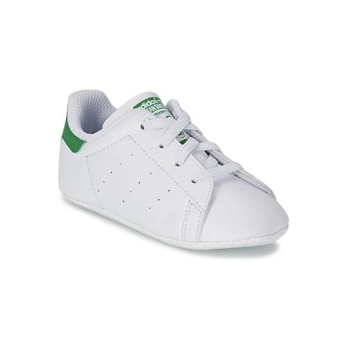 Schoenen Kinderen Lage sneakers adidas Originals STAN SMITH GIFTSET Wit / Groen