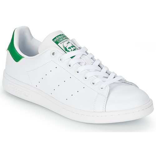 promo code 2fee9 f9793 Schoenen Lage sneakers adidas Originals STAN SMITH Wit  Groen