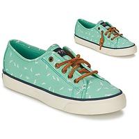 Schoenen Dames Lage sneakers Sperry Top-Sider SEACOAST Groen