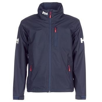 Textiel Heren Wind jackets Helly Hansen CREW HOODED MIDLAYER JACKET Marine