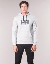 Textiel Heren Sweaters / Sweatshirts Helly Hansen HH LOGO HOODIE Grijs