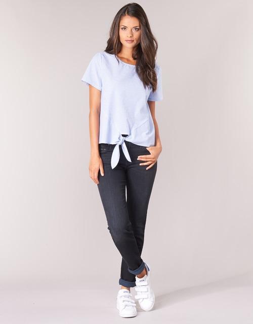 Textiel Dames Straight jeans Lee ELLY ZIP Zwart