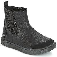 Schoenen Meisjes Laarzen Mod'8 BLABLA Zwart