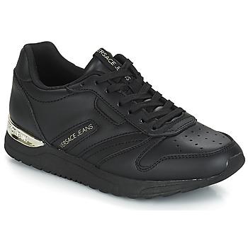 Schoenen Dames Lage sneakers Versace Jeans Couture TAPADO Zwart