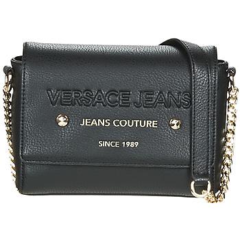 Tassen Dames Schoudertassen met riem Versace Jeans SINLAGA Zwart