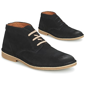 Schoenen Heren Laarzen Selected ROYCE DESERT SUEDE BOOT Zwart