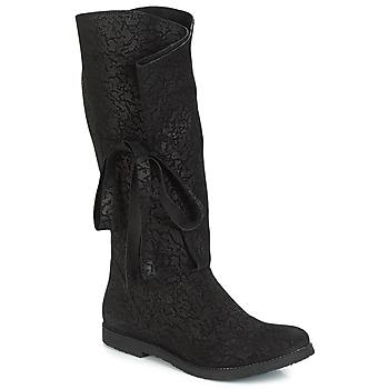 Schoenen Dames Hoge laarzen Papucei LUCIA Zwart