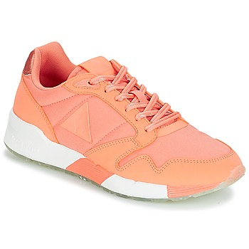 Schoenen Dames Lage sneakers Le Coq Sportif OMEGA X W METALLIC Roze / Koraal