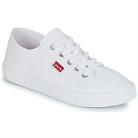 Schoenen Dames Lage sneakers Levi's MALIBU BEACH S Wit