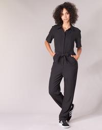 Textiel Dames Jumpsuites / Tuinbroeken G-Star Raw BRISTUM DC JUMPSUIT Zwart
