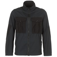 Textiel Heren Wind jackets G-Star Raw TYPE C UTILITY PM OVERSHIRT Zwart
