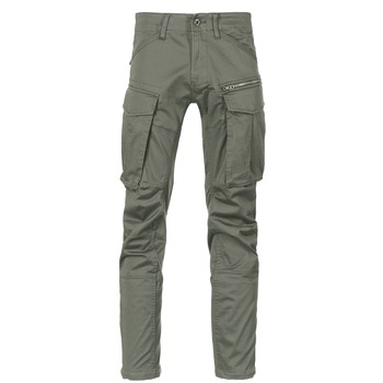 Textiel Heren Cargobroek G-Star Raw ROVIC ZIP 3D STRAIGHT TAPERED Grijs / Groen