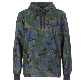 Textiel Heren Wind jackets G-Star Raw STOR ANORAK OVERSHIRT Blauw / Groen