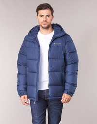 Textiel Heren Dons gevoerde jassen Columbia PIKE LAKE HOODED JACKET Marine