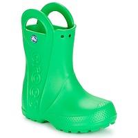 Schoenen Kinderen Regenlaarzen Crocs HANDLE IT RAIN BOOT KIDS Groen
