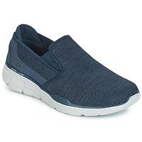 Schoenen Heren Instappers Skechers EQUALIZER 3.0 Blauw