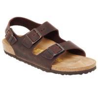 Schoenen Heren Sandalen / Open schoenen Birkenstock MILANO Bruin