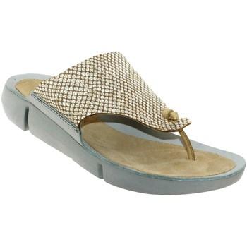 Schoenen Dames Sandalen / Open schoenen Clarks Tri carmen Beige leer