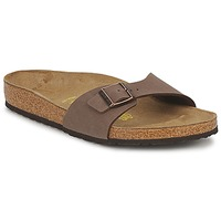 Schoenen Heren Leren slippers Birkenstock MADRID Bruin