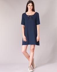 Textiel Dames Korte jurken Betty London HOUNI Marine