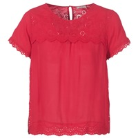 Textiel Dames Tops / Blousjes Betty London JALILI Rood
