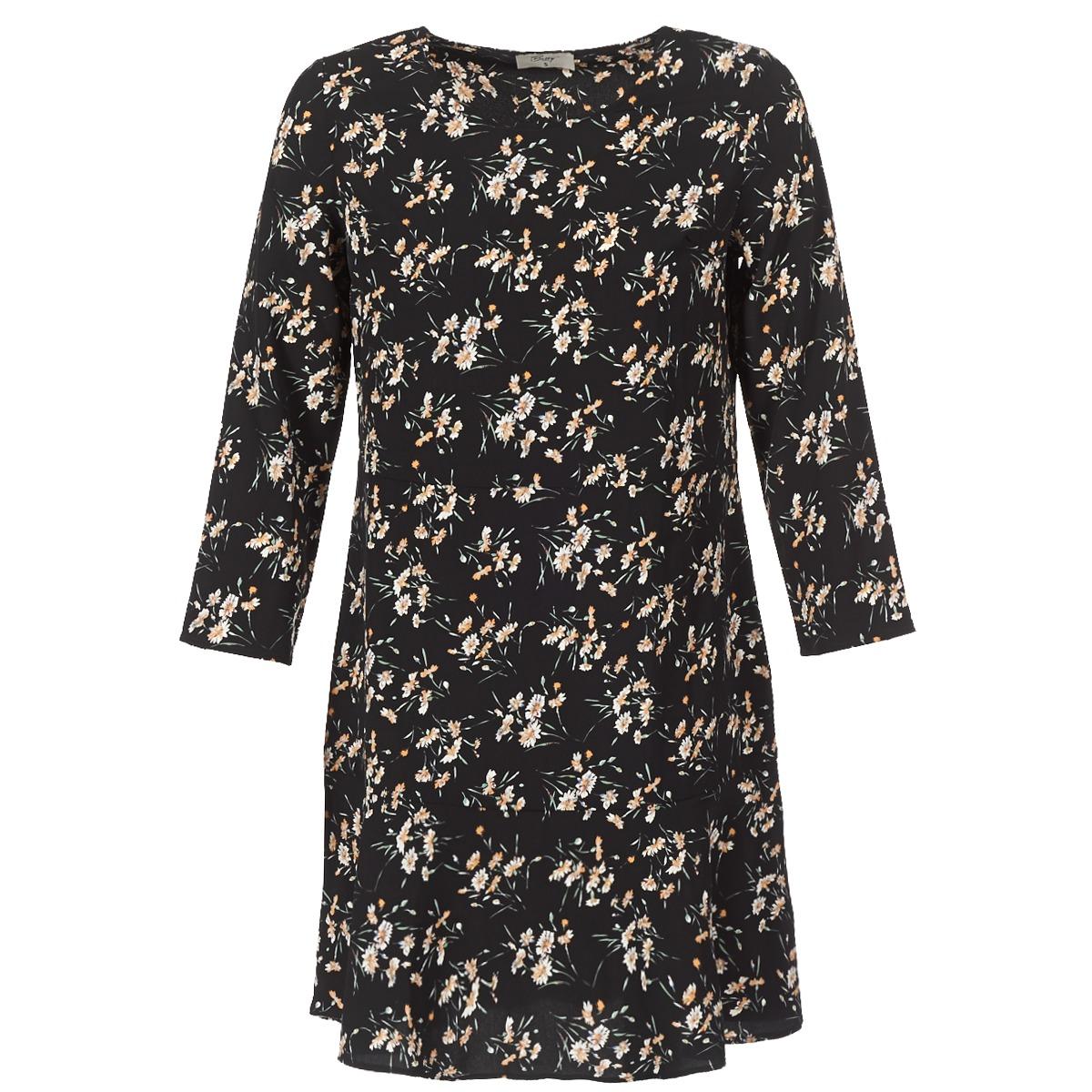 Betty London korte jurk jaflori zwart