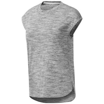 Textiel Dames T-shirts korte mouwen Reebok Sport EL Marble Grijs
