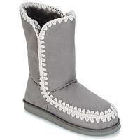 Schoenen Dames Hoge laarzen LPB Shoes NATHALIE Grijs