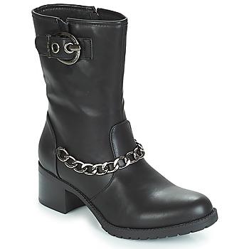 Schoenen Dames Enkellaarzen LPB Shoes LOANNE Zwart