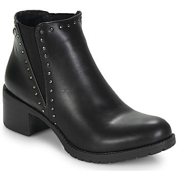 Schoenen Dames Enkellaarzen LPB Shoes LAURA Zwart