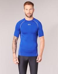 Textiel Heren T-shirts korte mouwen Under Armour UA HG ARMOUR SS COMPRESSION Blauw