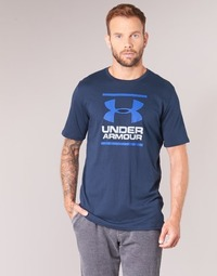 Textiel Heren T-shirts korte mouwen Under Armour UA GL FOUNDATION SS T Marine