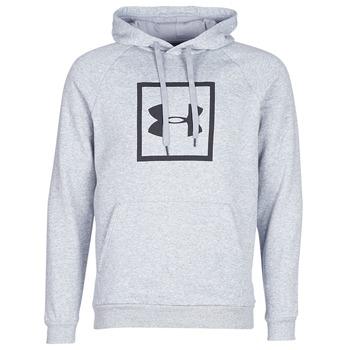 Textiel Heren Sweaters / Sweatshirts Under Armour RIVAL FLEECE LOGO HOODY Grijs