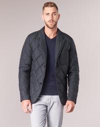 Textiel Heren Wind jackets Vicomte A. ODIN QUILTED BLAZER Marine