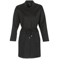 Textiel Dames Mantel jassen Benetton MARBELLO Zwart