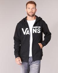Textiel Heren Sweaters / Sweatshirts Vans VANS CLASSIC ZIP HOODIE Zwart