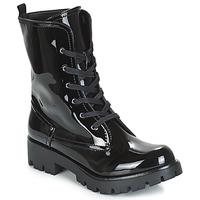 Schoenen Dames Laarzen Buffalo SKYLIGHT Zwart / Lak