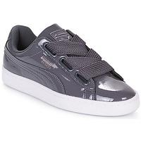 Schoenen Dames Lage sneakers Puma WN BASKET HEART PATENT.IRO  ijzer