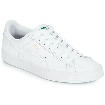 Schoenen Lage sneakers Puma BASKET CLASSIC LFS.WHT Wit