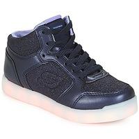 Schoenen Meisjes Hoge sneakers Skechers ENERGY LIGHTS Marine
