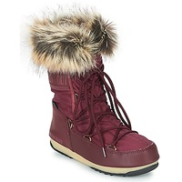 Schoenen Dames Snowboots Moon Boot MONACO LOW WP Bordeau